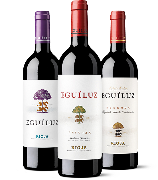 Vinos únicos y auténticos de Bodegas Eguíluz en Ábalos, La Rioja