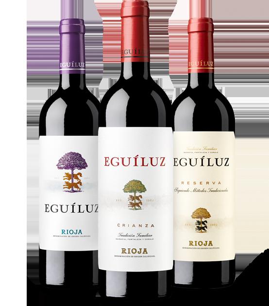 Vinos de Rioja de Bodegas Eguíluz